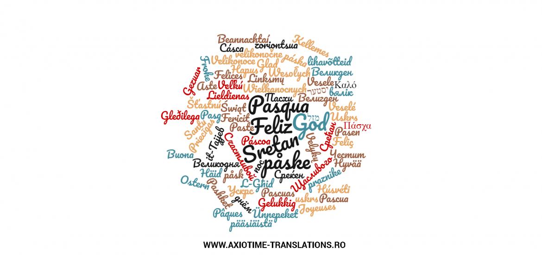 Urari de Pasti in limbi europene